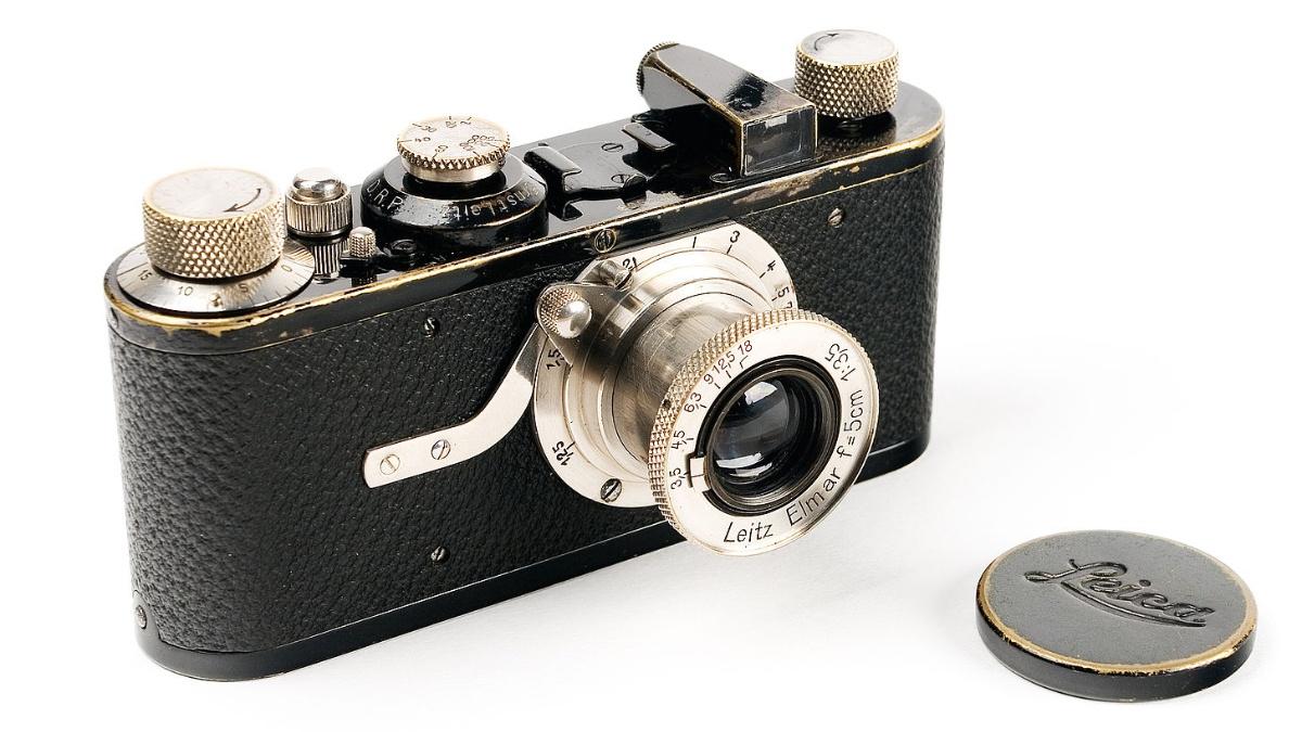 Leica 1 designed by Oscar Barnack