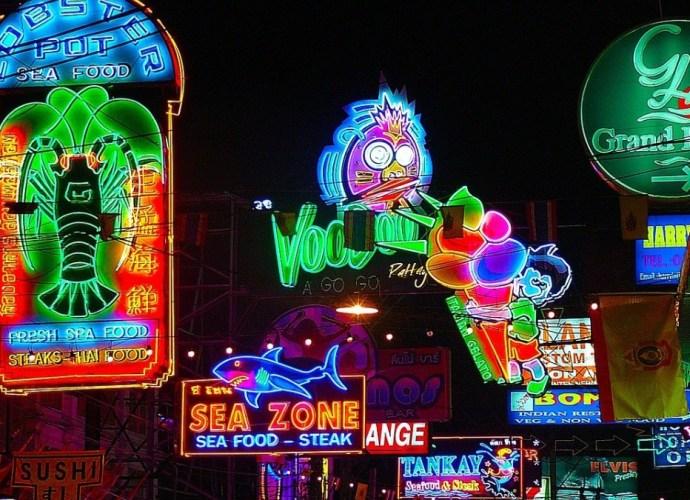 Neon Lighting Dictionary term