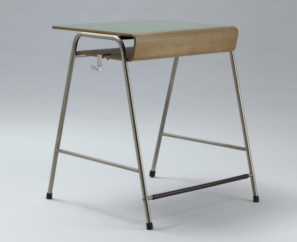 Munkegård school desk, 1955 designed by Arne Jacobsen