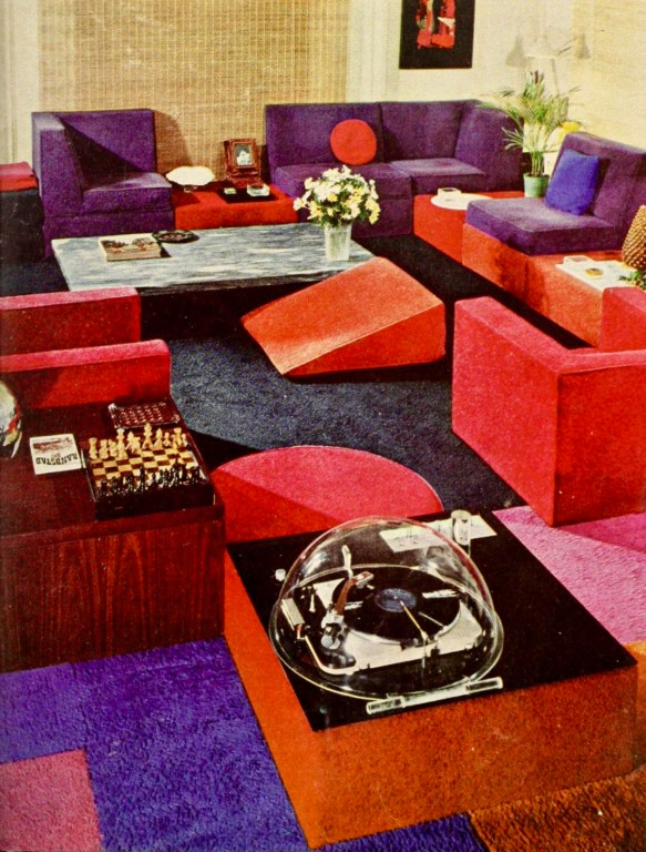 Lowered Levels 1966 interior design ideas