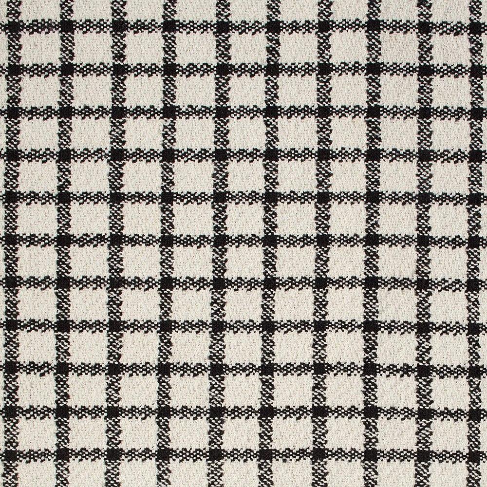 Amazon Brand – Stone & Beam Casual Grid Throw Blanket - Amazon Brand – Stone & Beam Casual Grid Throw Blanket - 60 x 50 Inch, Black / Ivory60 x 50 Inch, Black / Ivory