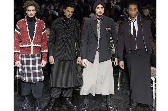 Men in Skirts by Jean-Paul Gaultier