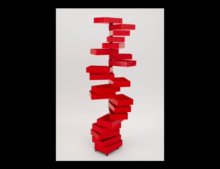 Revolving Cabinet by Shiro Kuramata