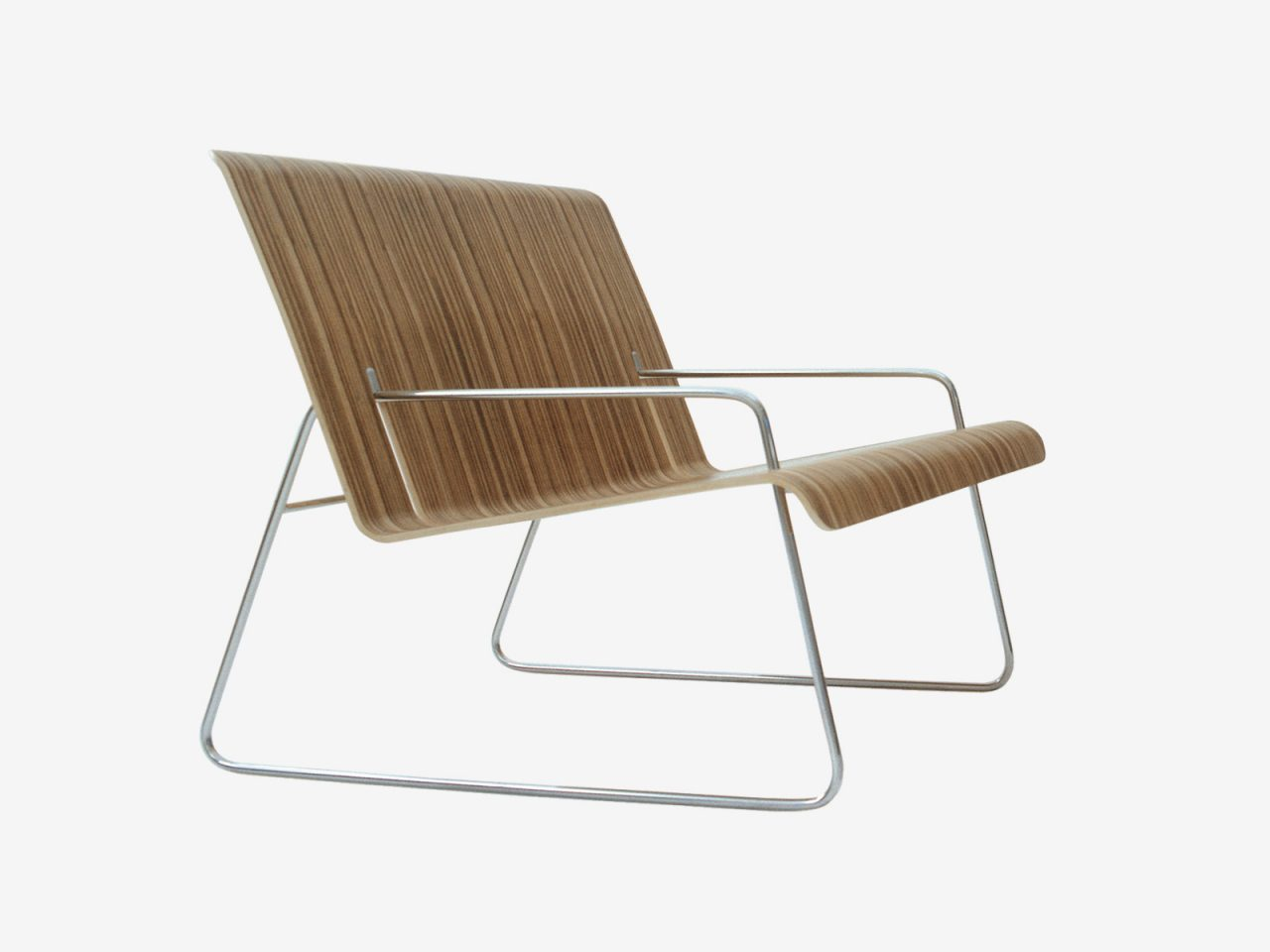 Slot armchair by Sebastian Bergne