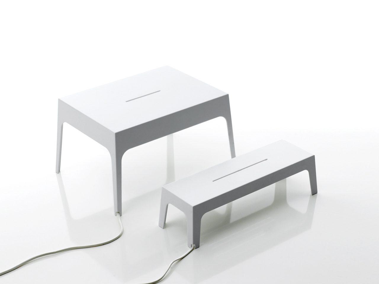 Zia and Zio Lamps by Sebastian Bergne