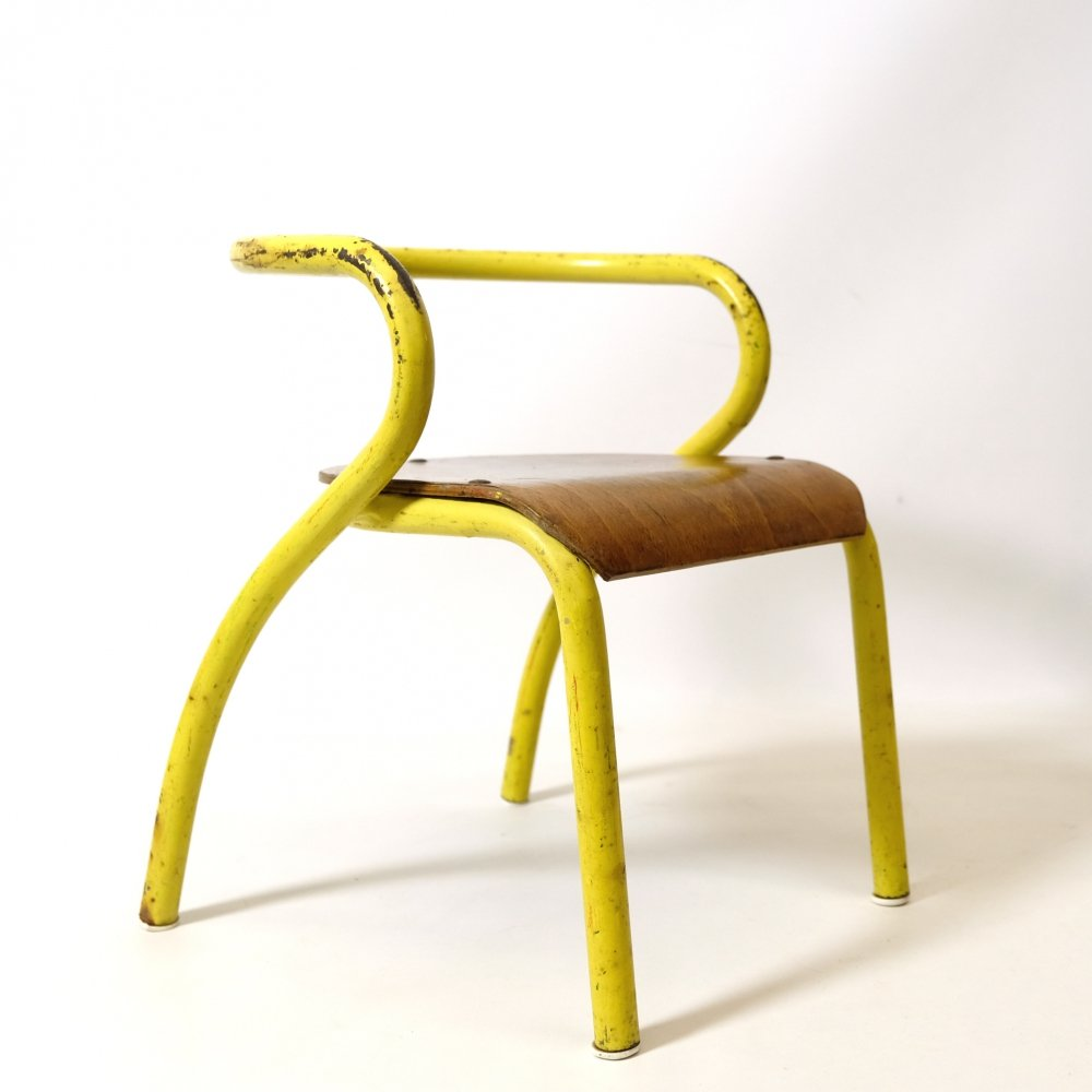 Mobilor child's chair by Jacques Hitier, 1940s