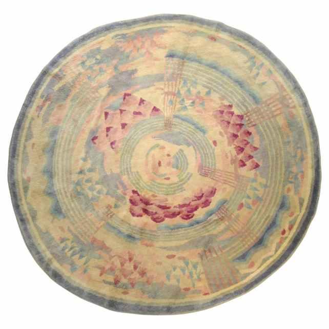 Savonerie carpet made by designer Gabriel Englinger