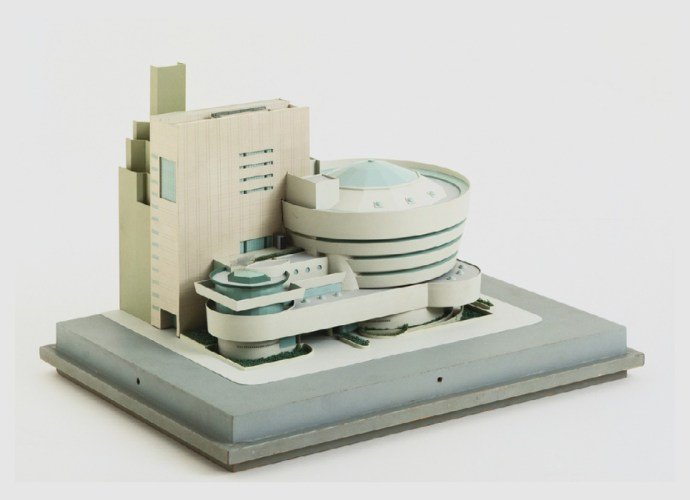 Addition to the Solomon R. Guggenheim Museum, New York, New York, Scale model