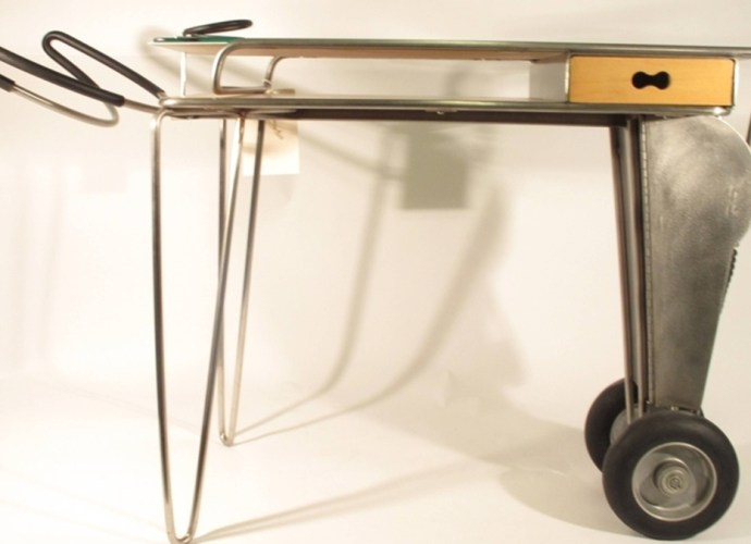 Longhorn Table by by Lisa Krohn