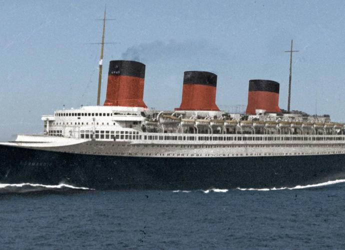 SS Normandie Art Deco Palace