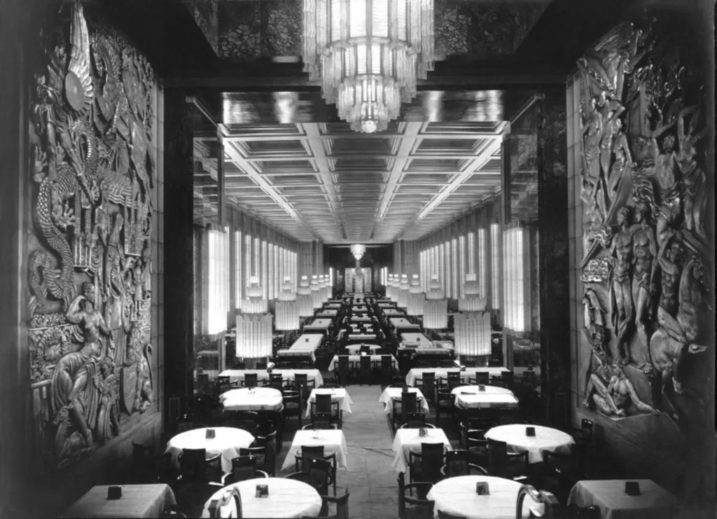 SS Normandie (ship, 1935) interior designed by Pierre Patout