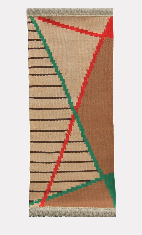 Small modernist rug by Antonin Kybal, 1950