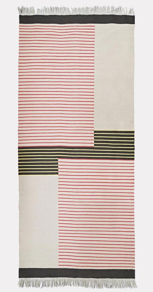 Vintage rug by Antonin Kybal, Eastern European, 1940s