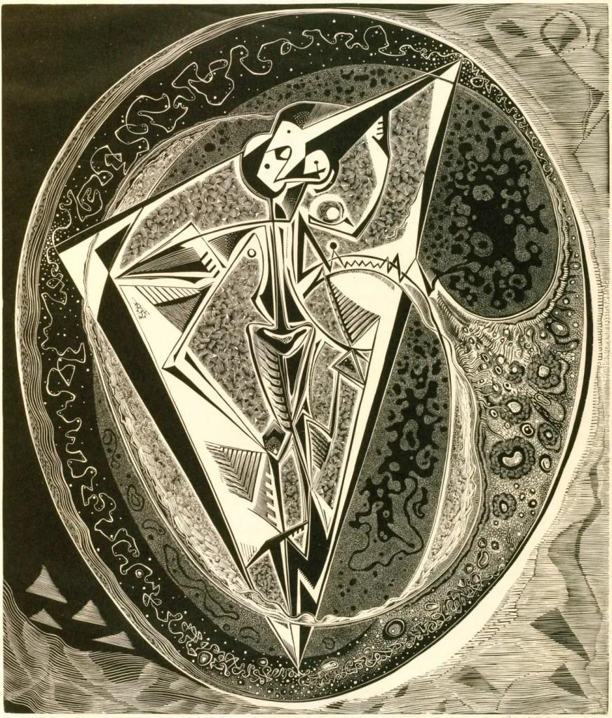 The Yolk, 1953 by Gertrude Hermes RA (1901 - 1983)