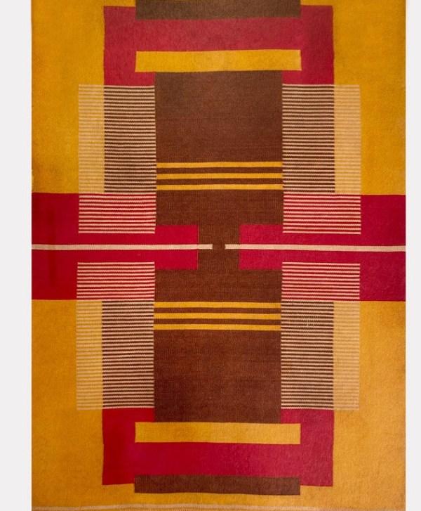 Wool carpet designed by Antonin Kybal, 1948