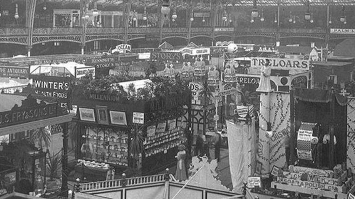 Ideal Home Exhibition 1908