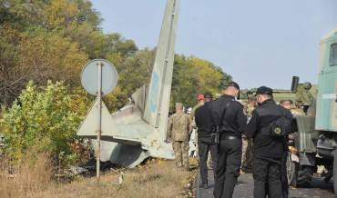 Ukraine confirms 22 dead after military plane crash
