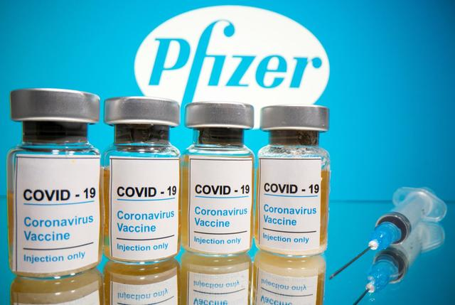 Pfizer says COVID-19 vaccine is looking 90 per cent effective