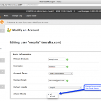 Enabling an email-only cPanel login