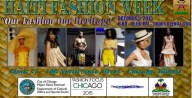 Honored to walk in the Haiti Fashion Week 2015 Preview at Fashion Focus CHICago!