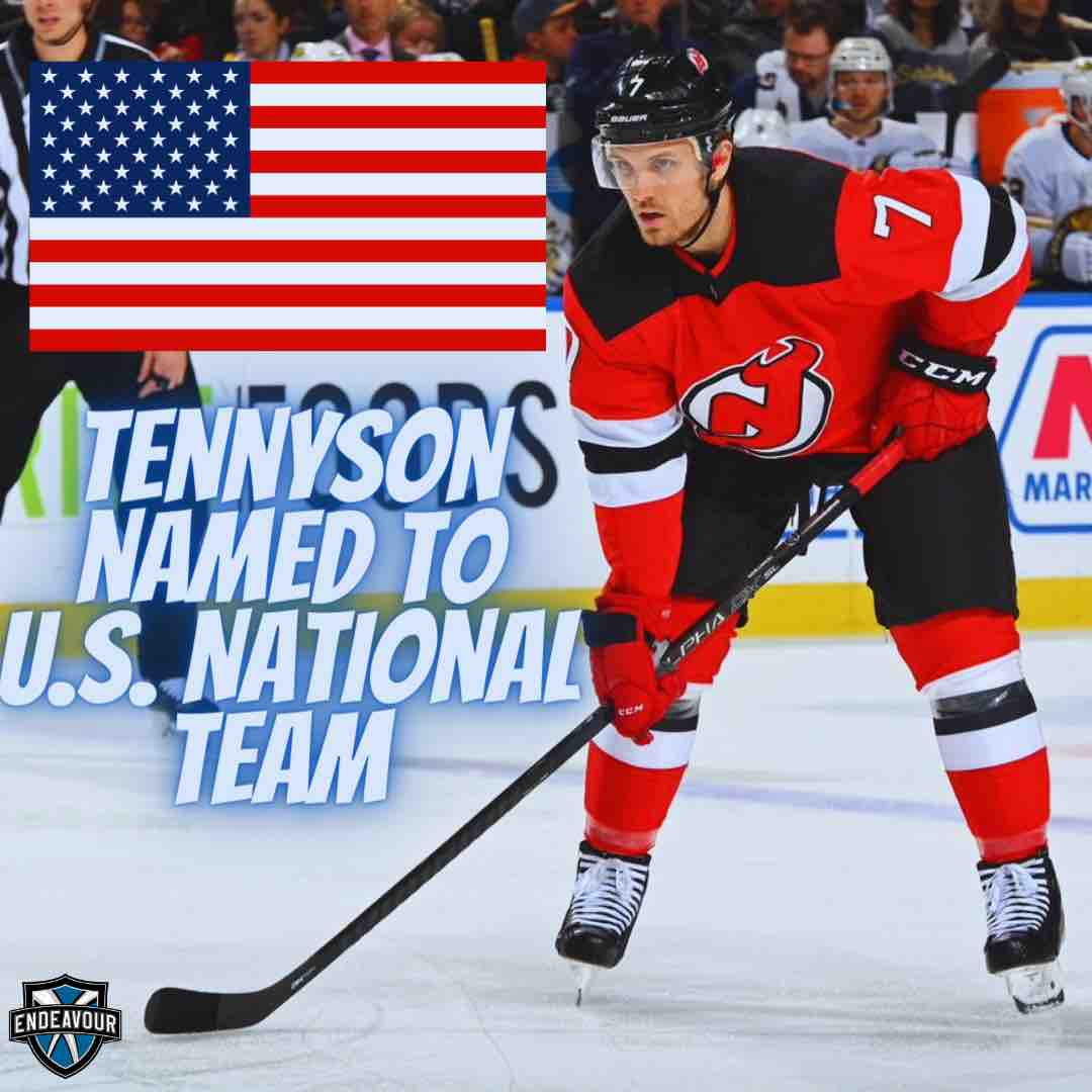 Matt Tennyson of the New Jersey Devils is named to the U.S. Men's National Team Roster for 2021