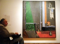Stewart at MoMA passing Piano Lesson by Matisse