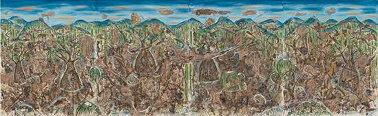 Cecilio Sánchez_Espíritus de la reserva_Arte_Oaxaca