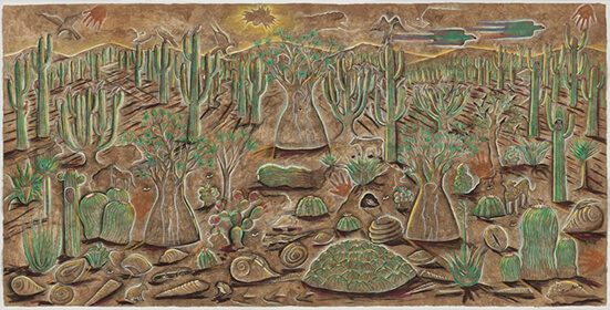 Cecilio Sánchez_Paisaje_Arte_Oaxaca_