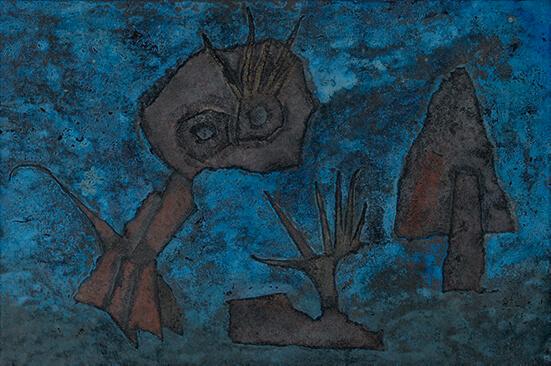 Daniele Crepaldi_Desierto de noche_Arte_Oaxaca_