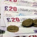 Bank notes and pound coins