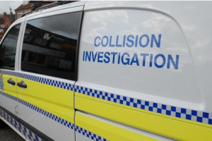 collision investigation van