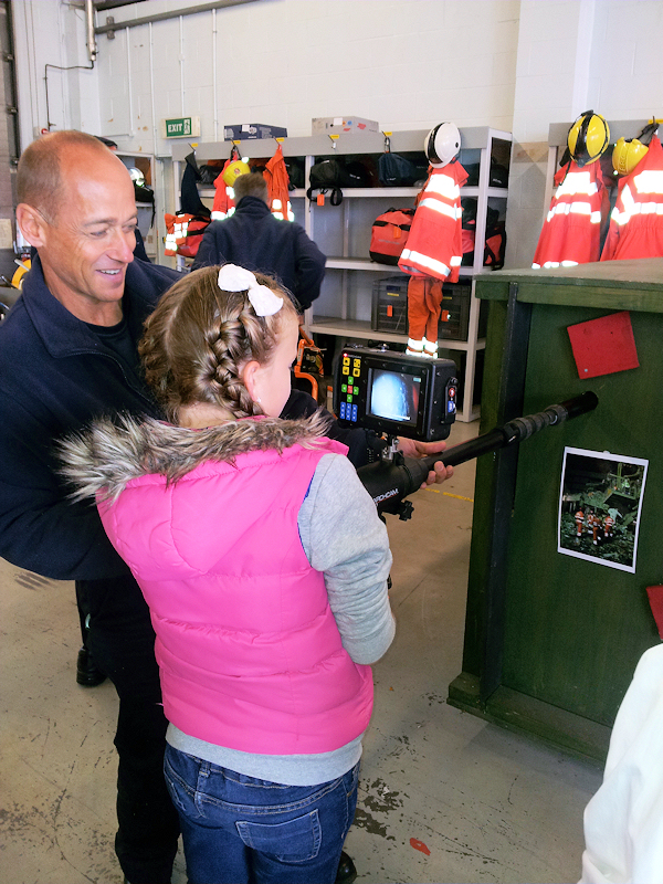 specialist camera fire open day