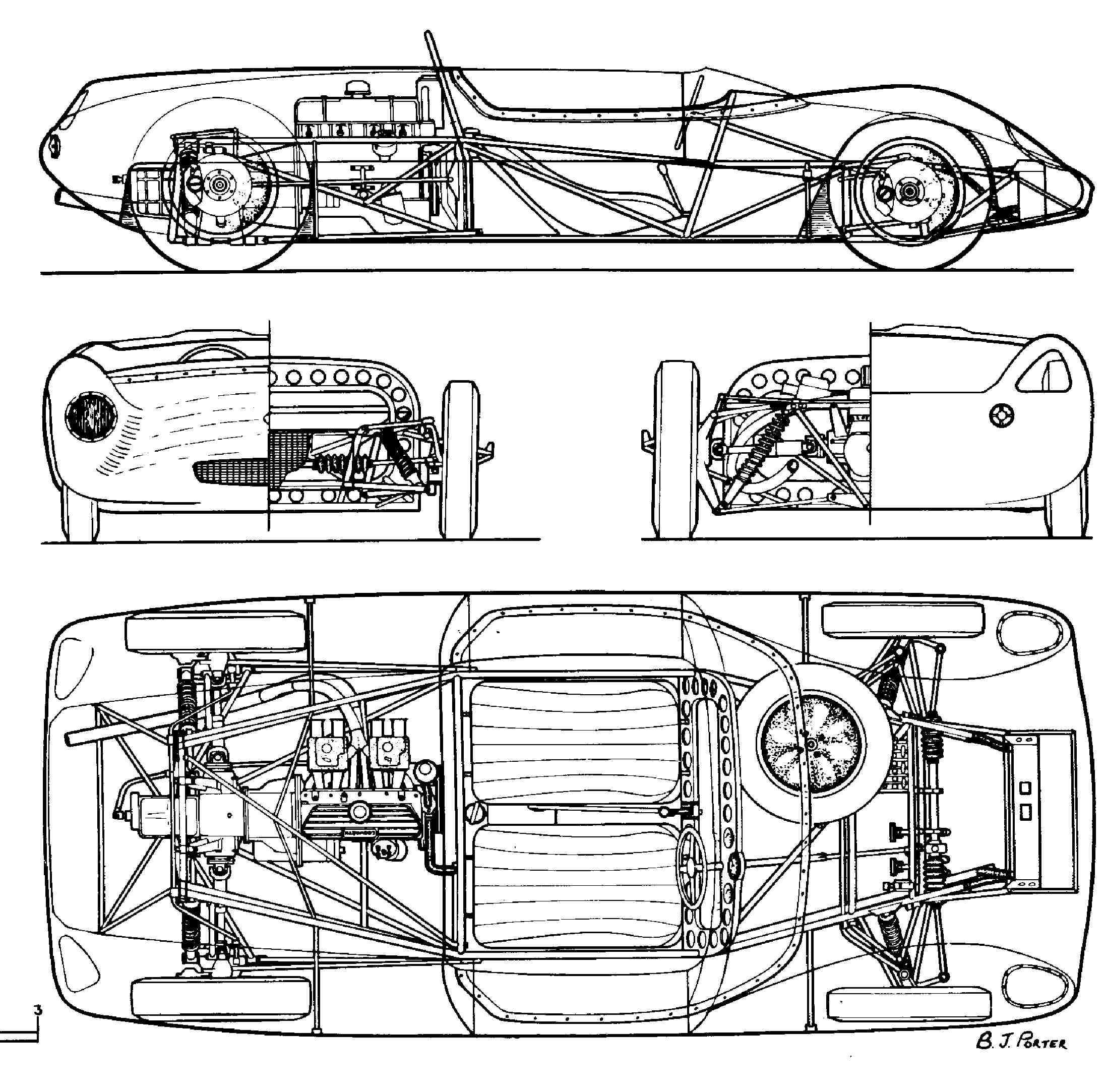 Lotus Mechanical Drawing Cad
