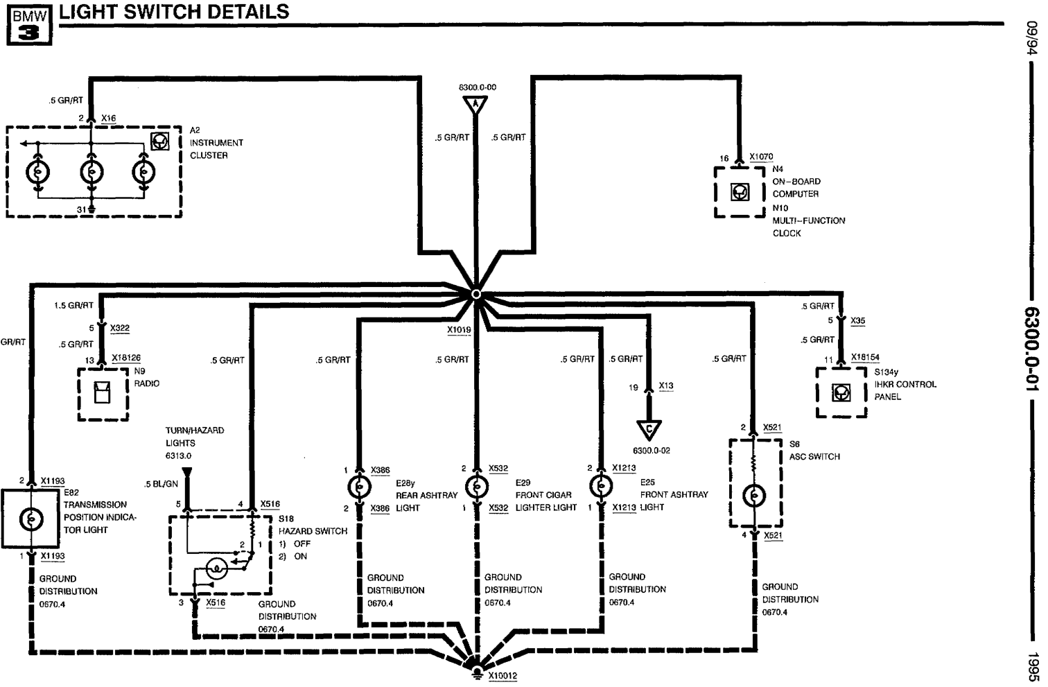 Basic Headlight Wiring Diagram