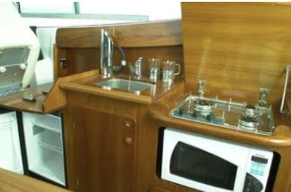 Merry Fisher 925 galley