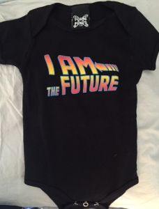Back to the Future onesie