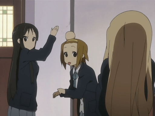 Image result for k-on mio hit