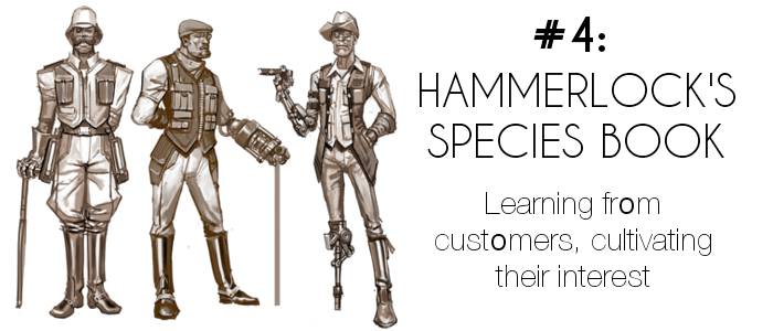 Endi-Hammerlock species book