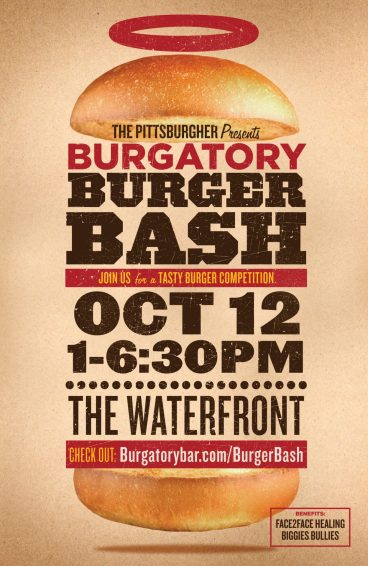 Burgatory bash poster photo