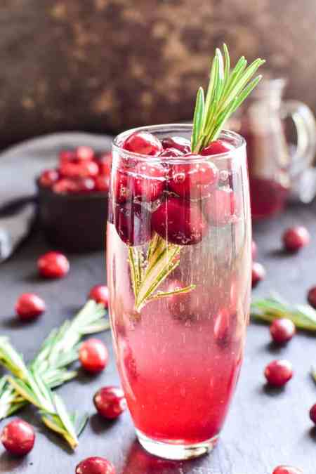 Cranberry Mimosa