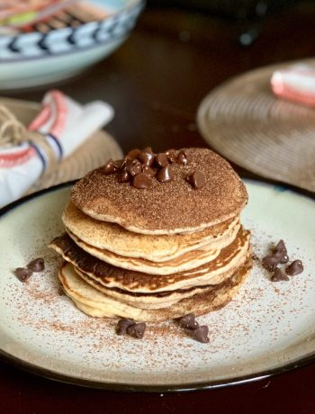 Chocolate Chip Snickerdoodle Pancake