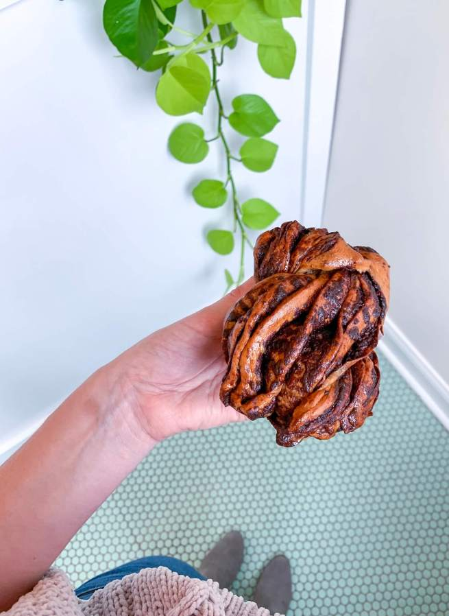 Chocolate Babka from 350° Bakery