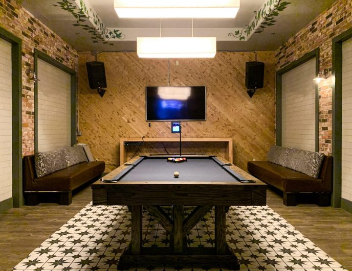 Pool Room at Standard Market & Pint House