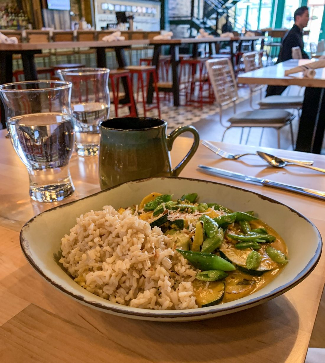 Coconut Curry at Standard Market & Pint House