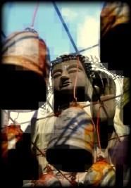 Pixelated Buddha