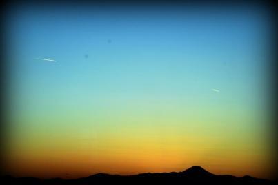 Sunset Skyrockets