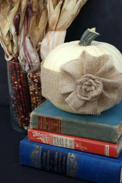 Learn how to make an easy knotted jute rosette