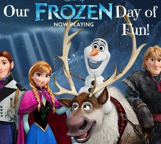 A #FrozenFun snow day with toys, books, and music from the movie FROZEN. #cbias #shop