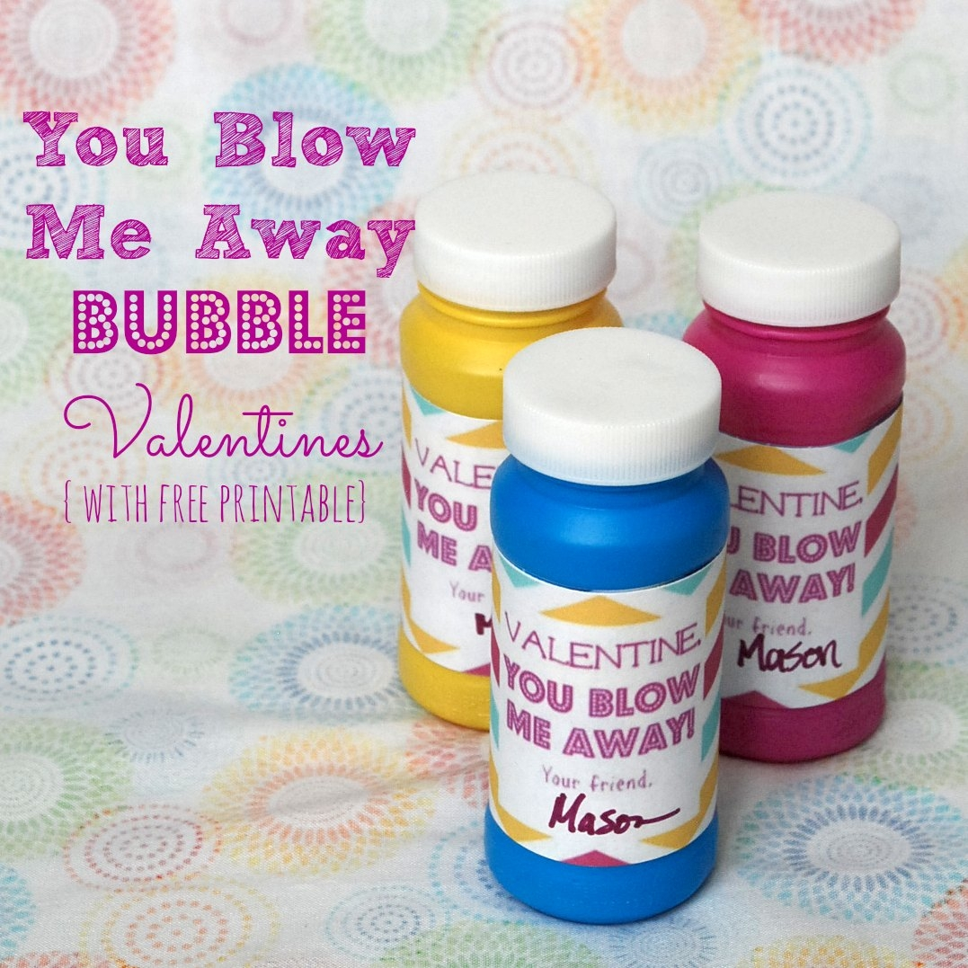 photograph relating to You Blow Me Away Valentine Printable named On your own Blow Me Absent Bubble Valentines Forever Encouraged