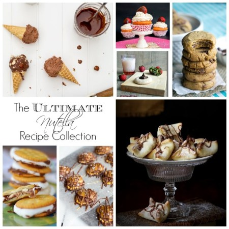 The Ultimate Nutella Recipe collection - 50 of the most incredible Nutella recipes you'll ever find.